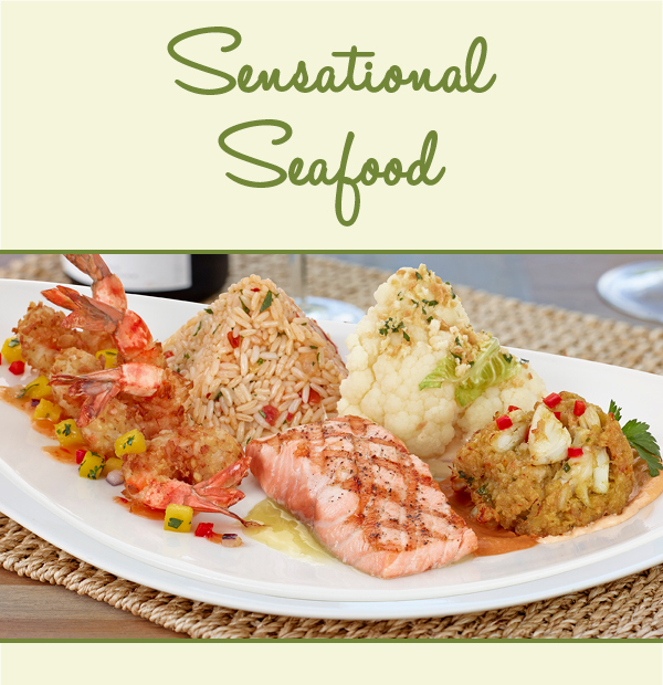 Seasonal Seafood!